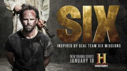 La série Six d'History avec Barry Sloane © facebook Six