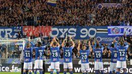 Le RC Starsbourg est à 3 points de la montée © facebook officiel RC Strasbourg
