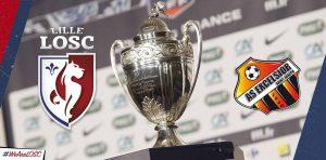 Le LOSC affrontera l'AS Excelsior en 32ème de finale de la Coupe de France © facebook officiel LOSC
