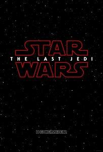 L'affiche du prochain Star Wars : The Last Jedi © facebook officiel Star Wars