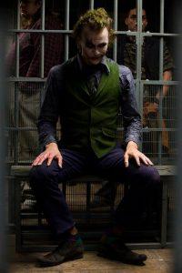 Heath Ledger incarne le Joker © facebook officiel The Dark Knight