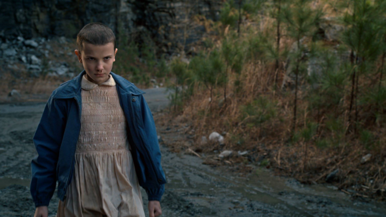 Eleven dans Stranger Things
