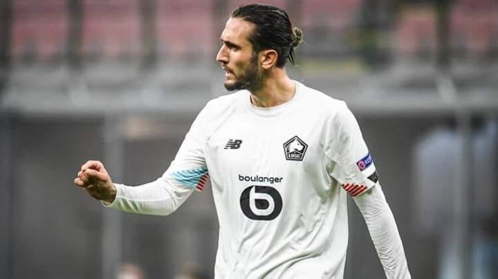 Yusuf Yazici a inscrit un triplé contre Milan avec le LOSC