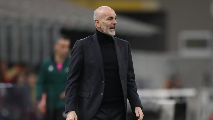 Stefano Pioli, entraîneur du Milan AC