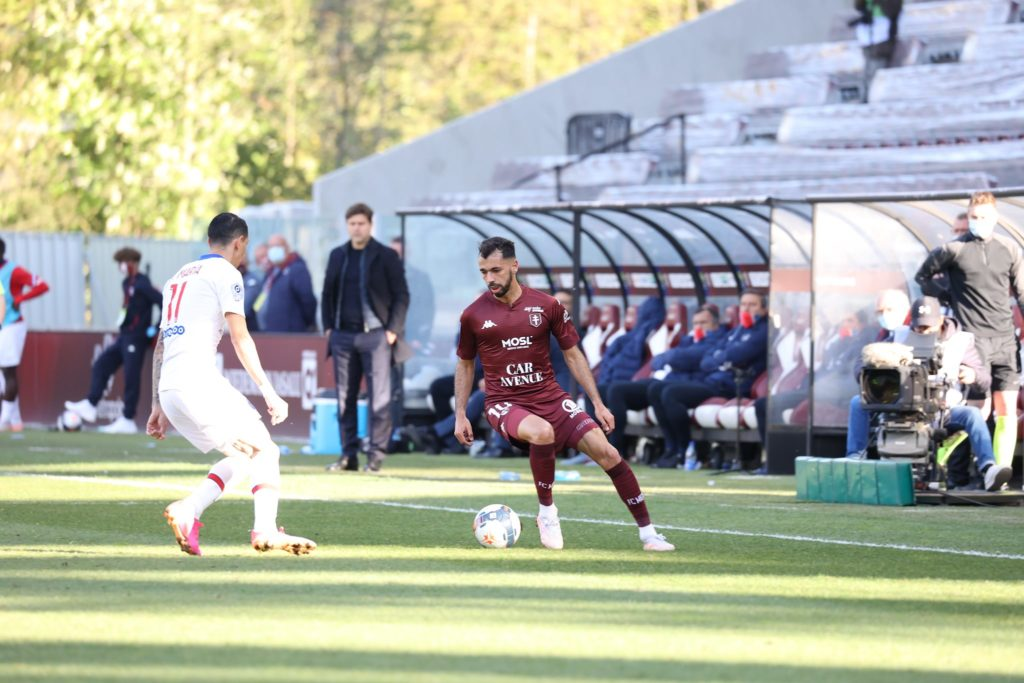 Farid Boulaya dans le viseur de Lille et Rennes © facebook officiel FC Metz